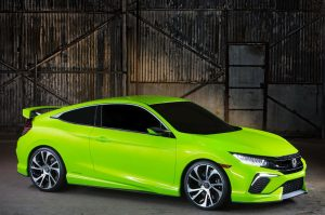 Honda Civic. Цвет CIVIлизации.