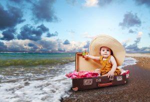 Отдых с ребенком 3 лет: готовимся к путешествию