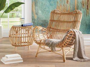 Плетеная мебель для дачи стандарты и изыски